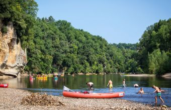 Camping Beau Rivage Dordogne