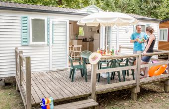 Mobil-home Atlantique camping Beau Rivage