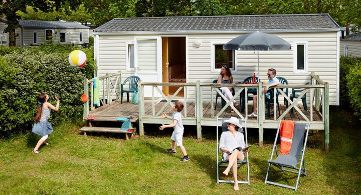 Mobil-home Atlantique camping de L'Eve