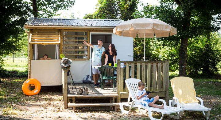 Tithome camping Les Granges