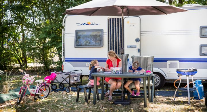 Emplacement camping Oléla